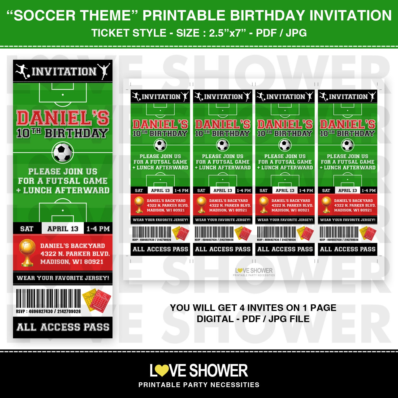 Football ticket design template filmwisefo