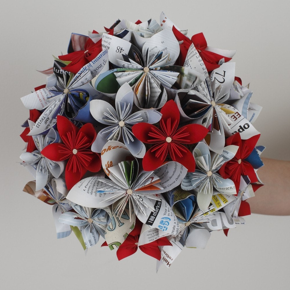 Custom Large Paper Bouquet