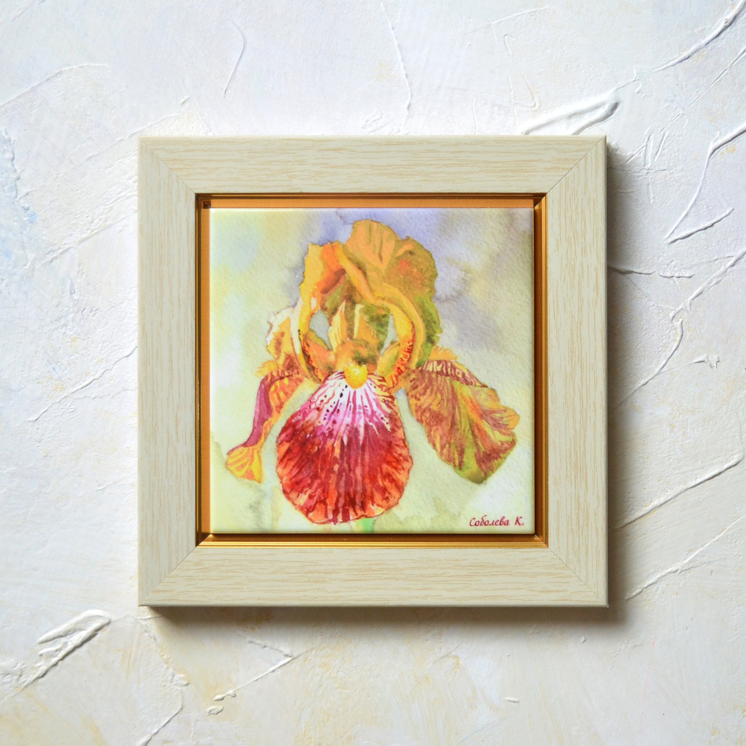 Unavailable listing on etsy - Painting ceramic tile walls ...