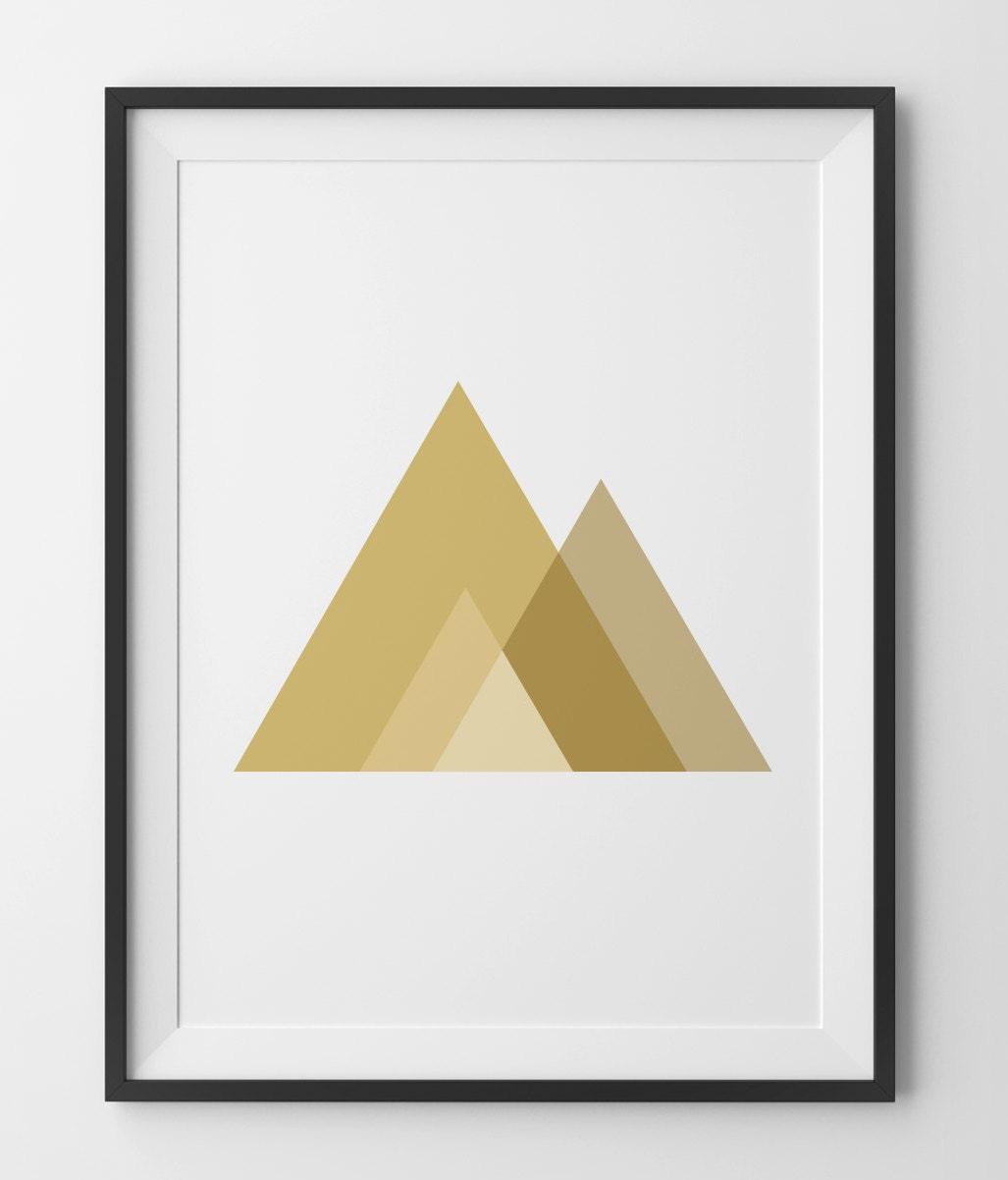 Декор треугольник