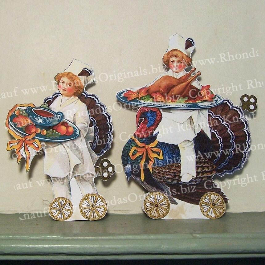Decorating Ideas > INSTANT Download Digital Thanksgiving By RhondasOriginals  ~ 070224_Thanksgiving Decorations On Etsy