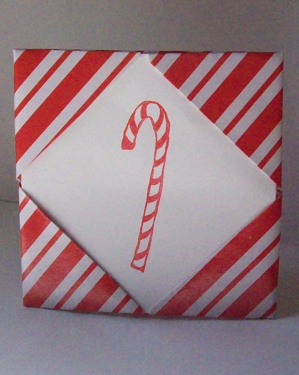 Candy Cane Card/Picture Frame/Gift Card Holder