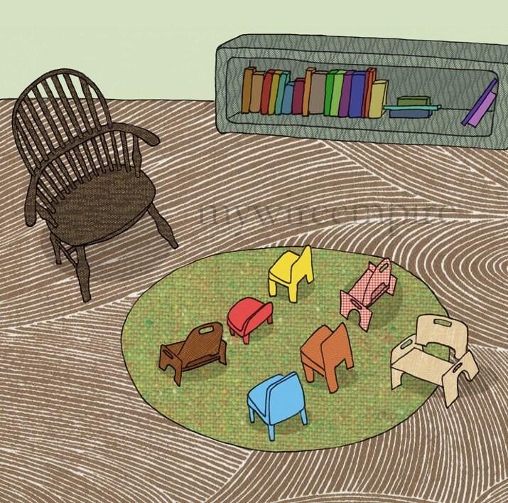nursery school - print