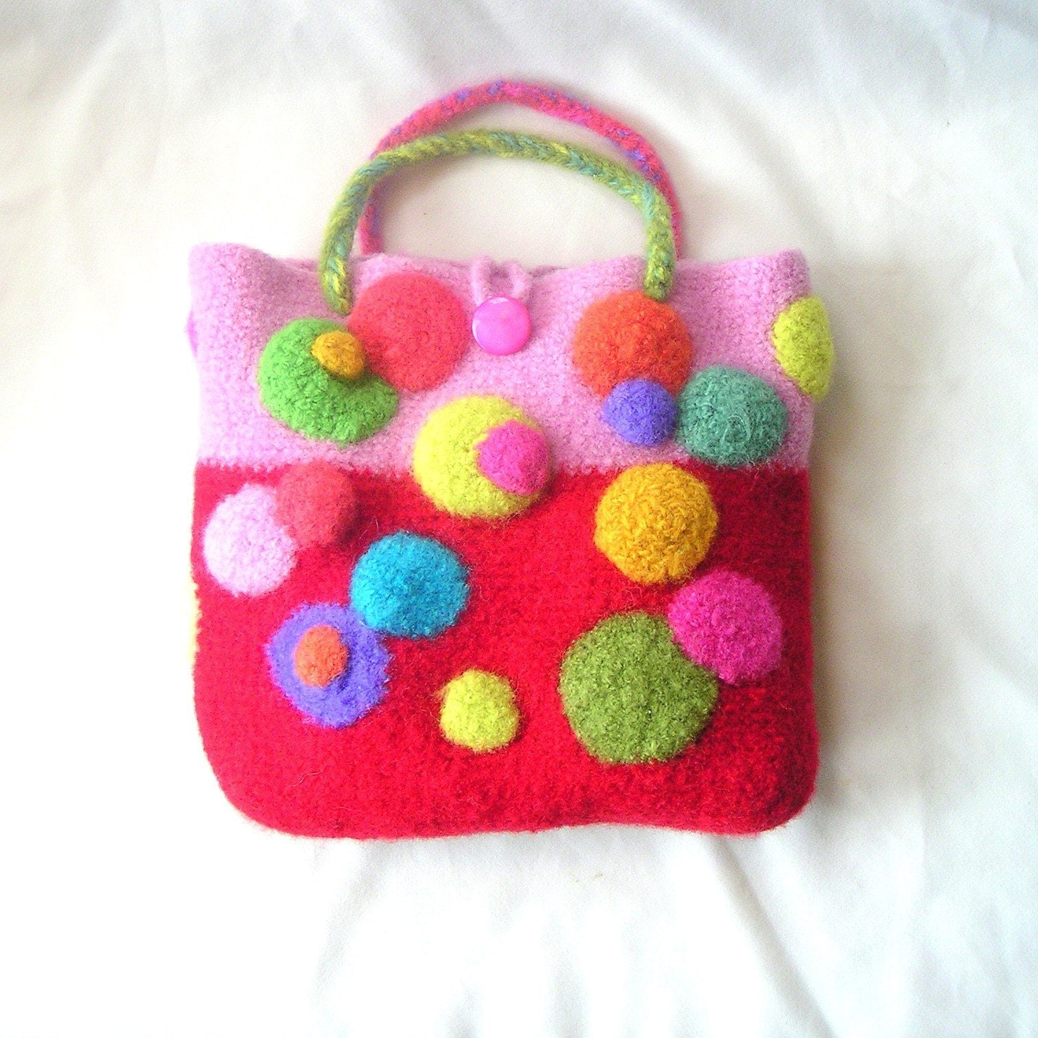Crochet Spot » Blog Archive » Free Crochet Pattern: Felted Bowl