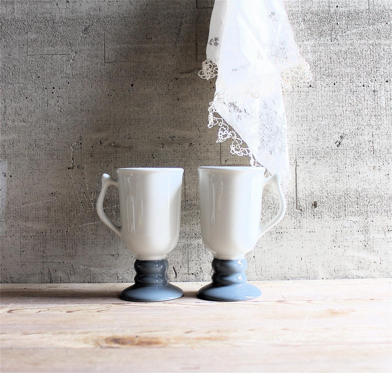 Vintage Pair Hall Pedestal Mug - lovintagefinds