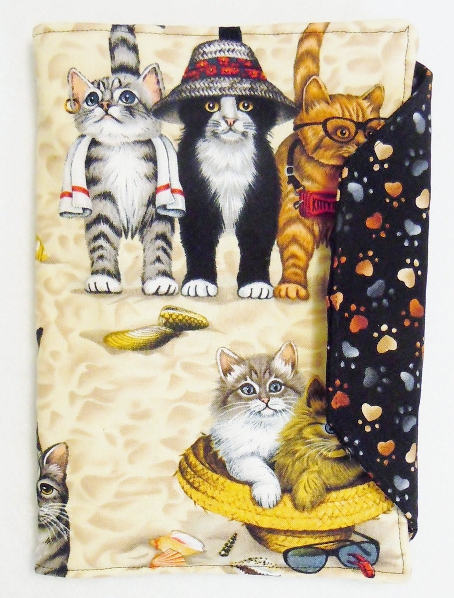Cat Patterned iPad Case
