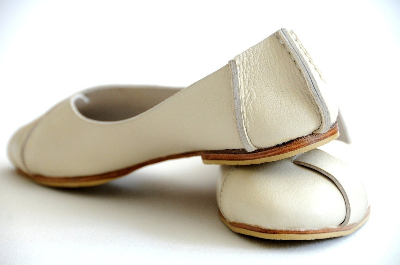 ballet flats womens leather shoes flat by balielf