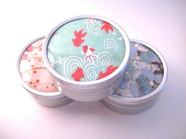 Chiyogami Gift Tin - $2