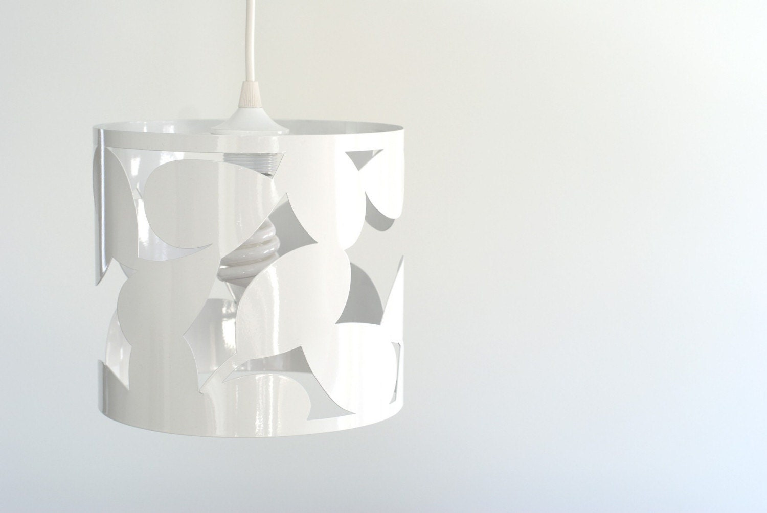 SALE  loop leaf pendant lamp by meganauman on Etsy from etsy.com