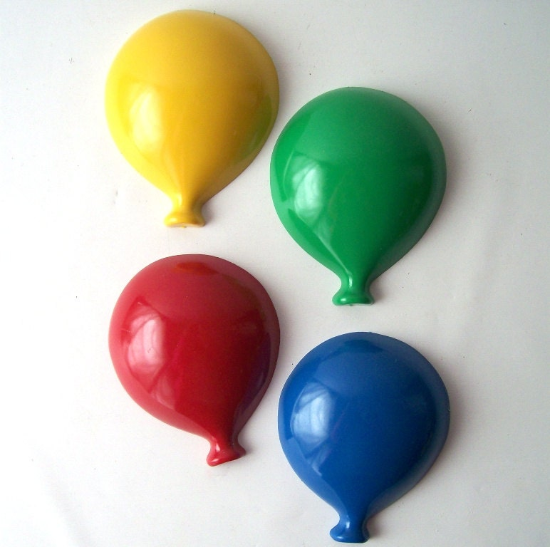 Vintage Balloon Wall Hanging Set Of 4 Home By
