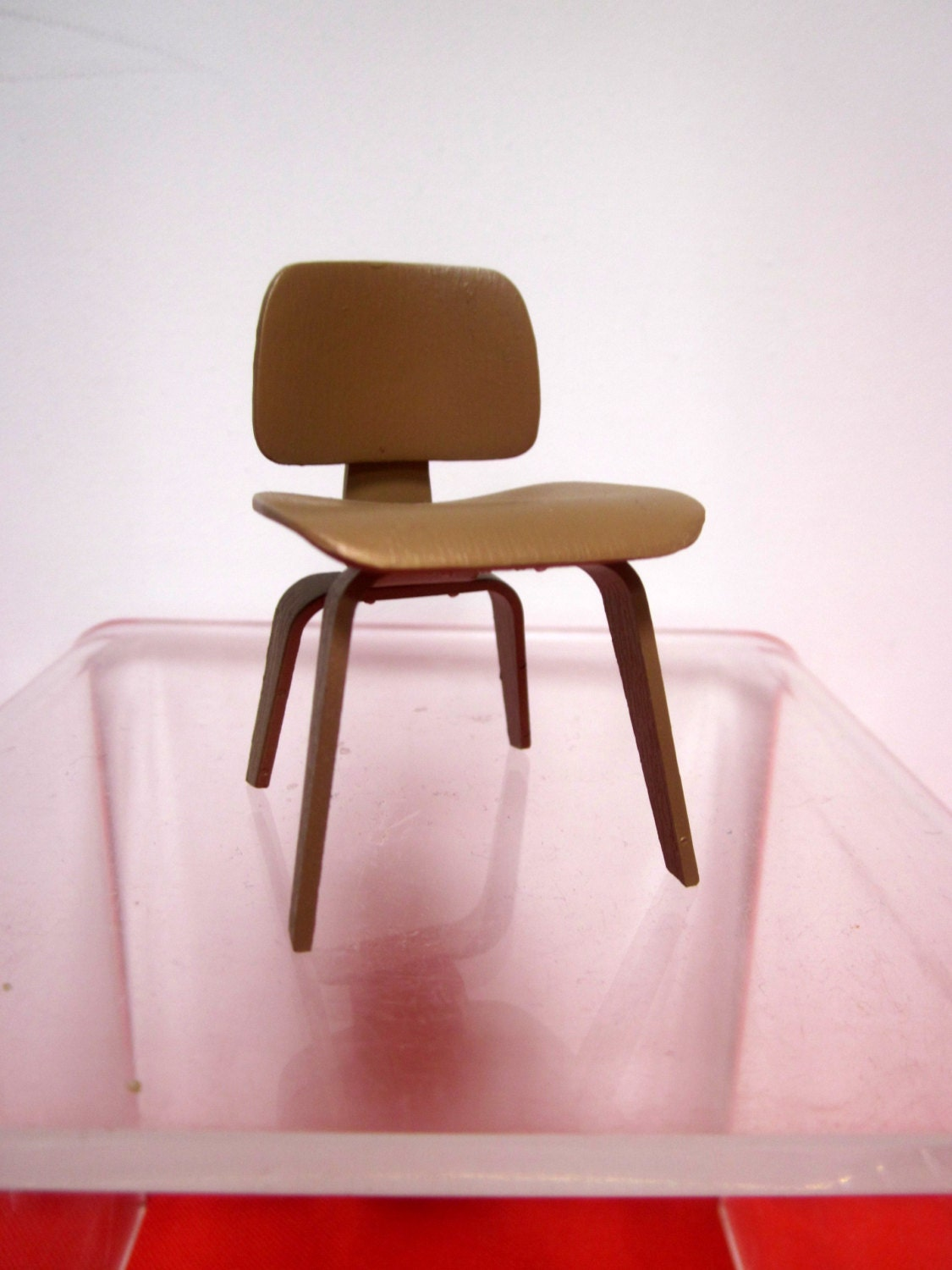 Mini miniature designer chair mid century modern by for Mini designer chairs