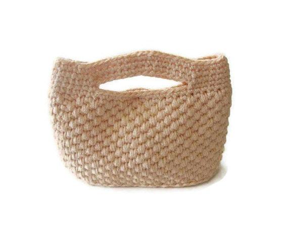 Easy Handbag Pattern : PDF CROCHET PATTERN pattern for Handbag, crochet Bag, Clutch, Tutorial ...
