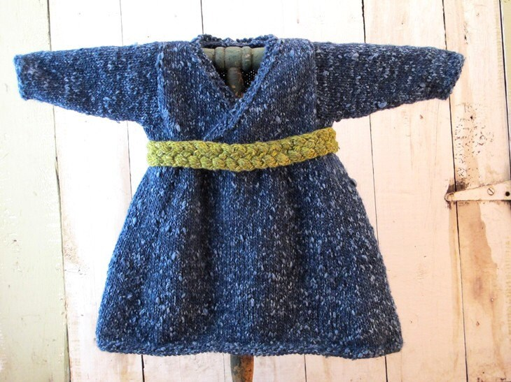 Twilight Blue Baby Dress for Fall