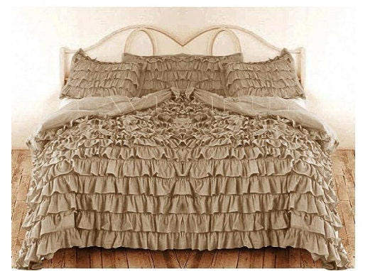 Etsy your place to buy and sell all things handmade for Frilly bedspreads