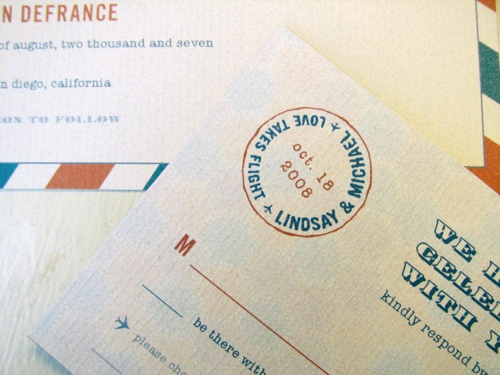 25 Airmail Invitations