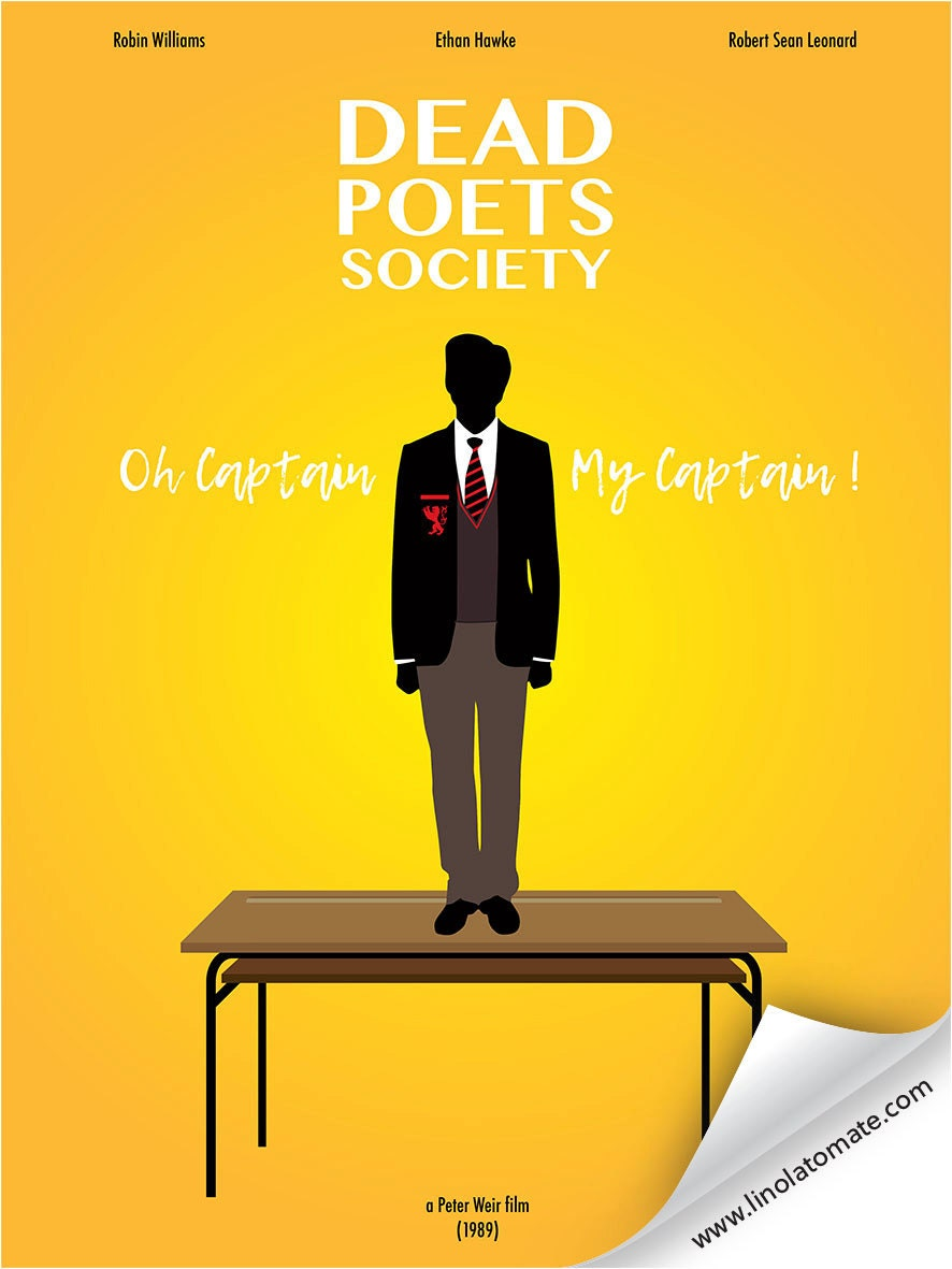 a review of the film dead poets society and capre diem Dead poets society the meetings of the dead poets society, a self-consciously bohemian group of students who hold secret meetings in the dead movie reviews.