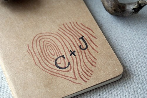 Custom Heart  Journal