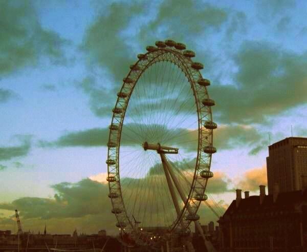 Eyes on London - 8x10 Fine Art Print