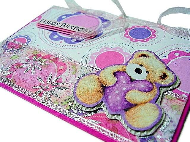 Happy Birthday Gift Tag. Birthday - Beary Happy