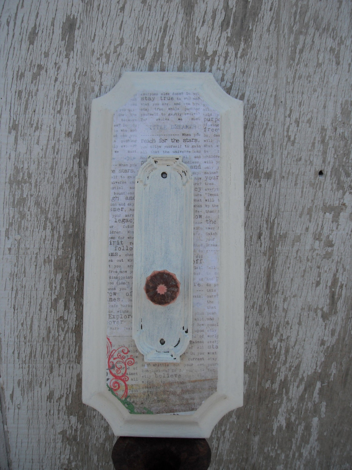 Shabby Chic Knob Hook