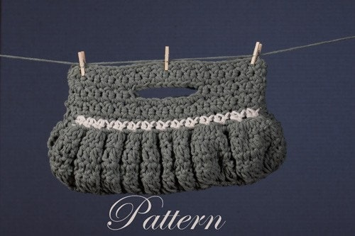 PDF Pattern Crochet Clutch Ladies Purse