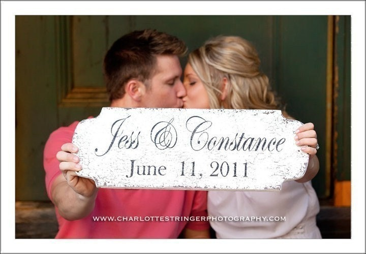 SAVE THE DATE and WEDDING SIGN Use this sign TWICE 22 x 8