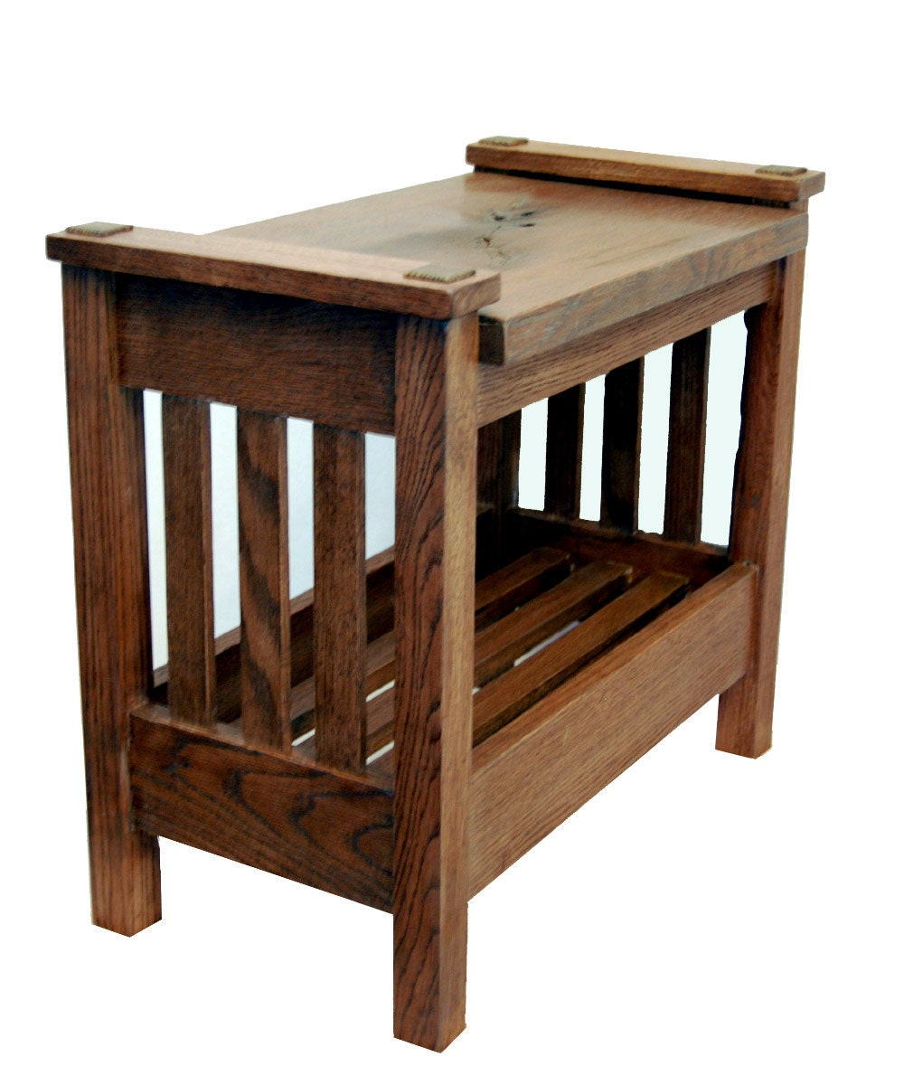 Small Bench In Arts And Crafts Style By Rmccustomwoodworks On Etsy