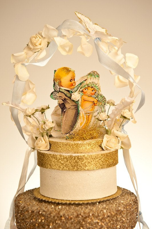 Kewpie Doll  Wedding Cake Topper