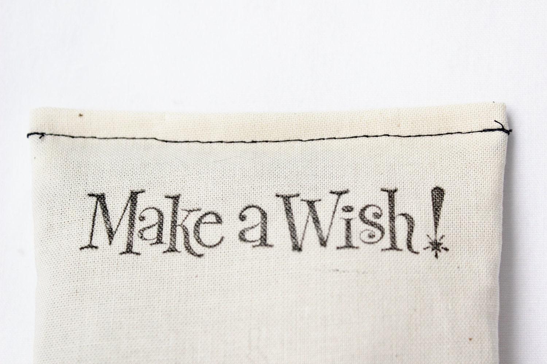 Make a Wish Balsam Sachet, Neutral Modern Minimalist Decor, Birthday Celebration Gift - Gardenmis