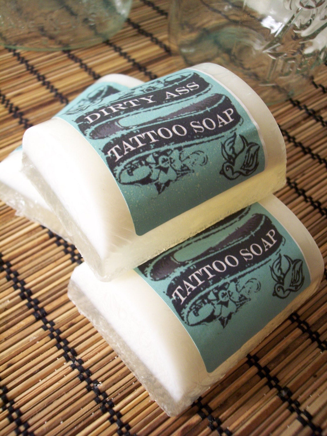 Dirty Ass Tattoo Soap - vegan soap