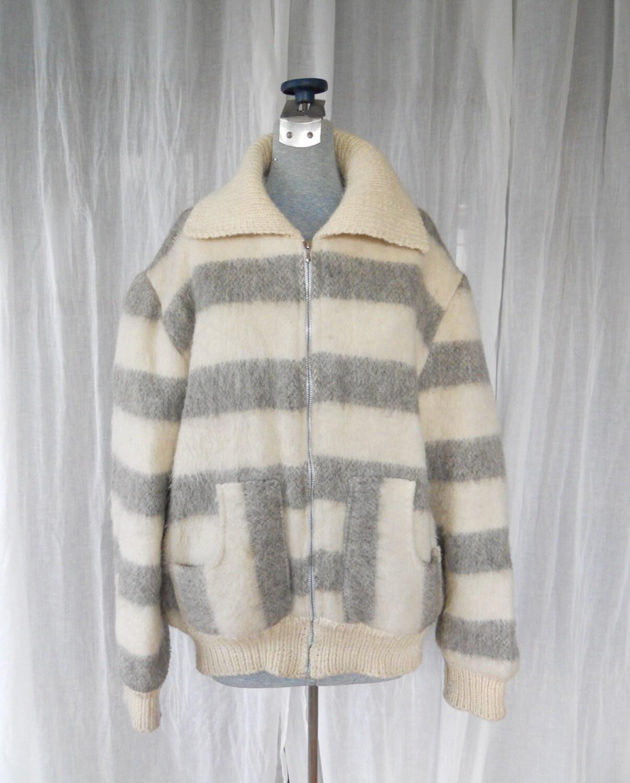 Iceland Wool Sweater Jacket