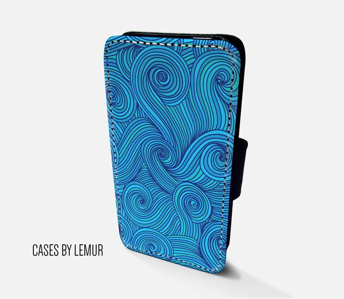 OCEAN Case For Samsung Galaxy S6 Edge Wallet Case For Samsung Galaxy S6 Edge Leather Case For Samsung Galaxy S6 Edge Leather Wallet Case