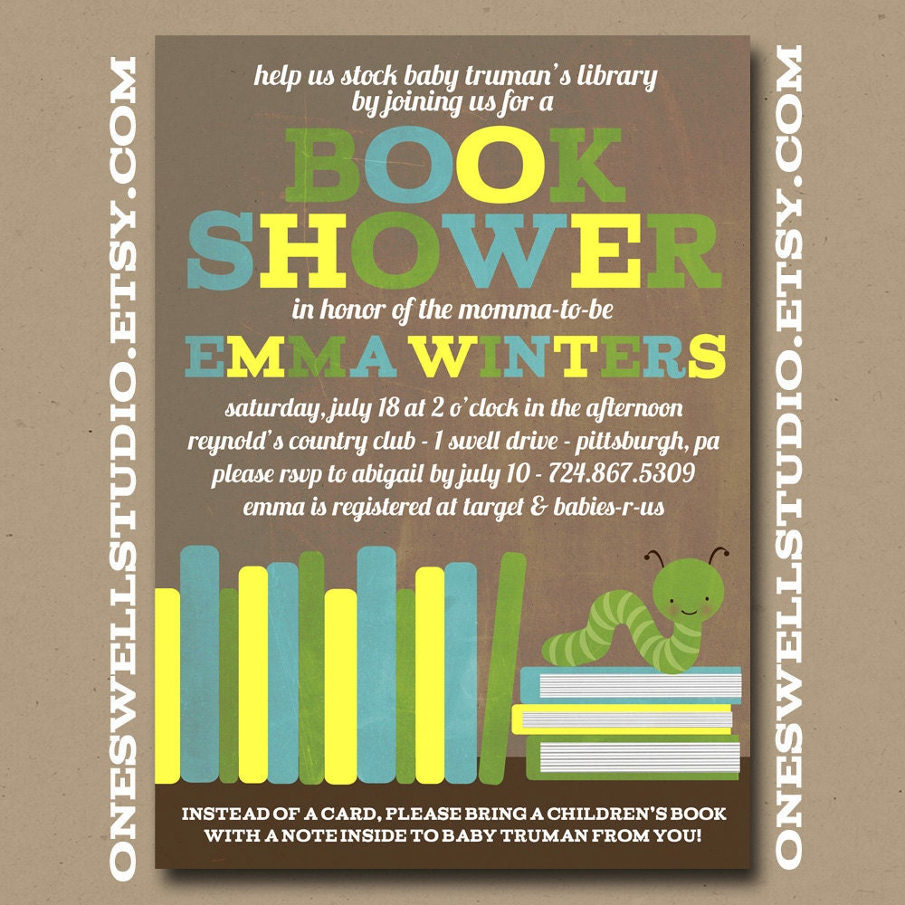book shower book worm baby shower diy printable by oneswellstudio