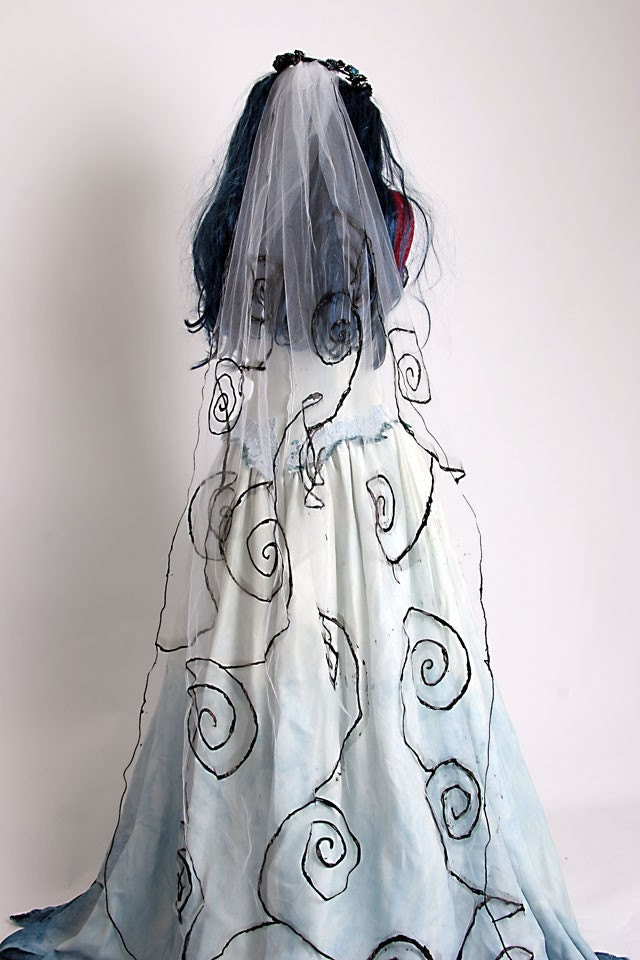 The Corpse Bride Wedding Dress Are you in love with Tim Burton