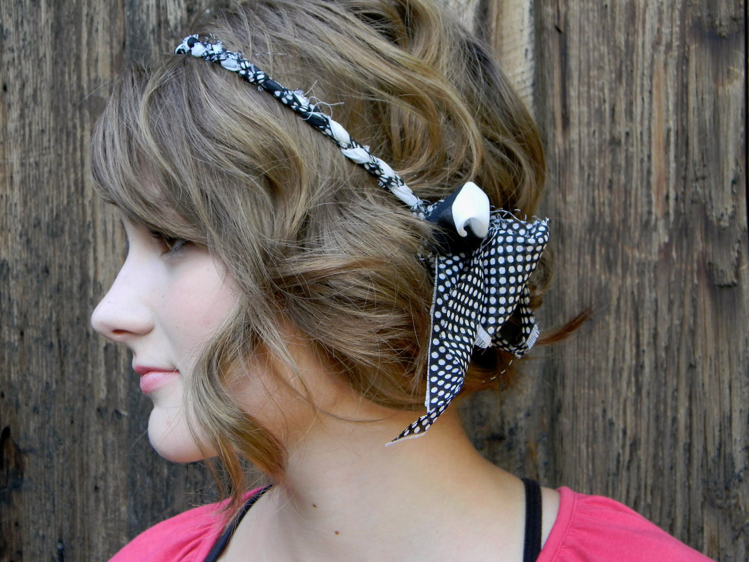 Polka Dot Headdress