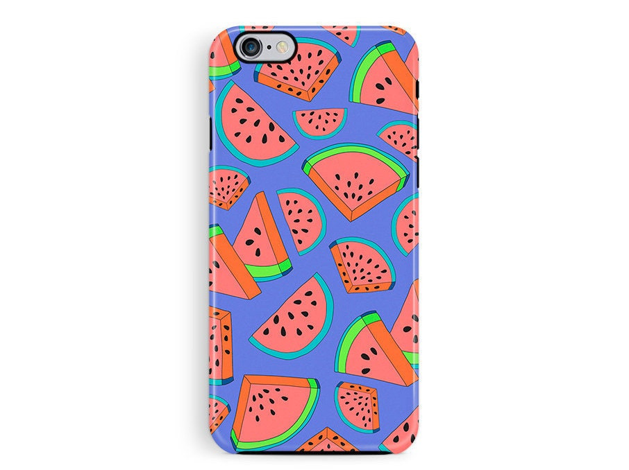 Protective iPhone Case Bumper iphone 6 Case iPhone 5s Case iPhone 6 Case Watermelon iPhone 6 Case Bumper phone case Hipster phone case