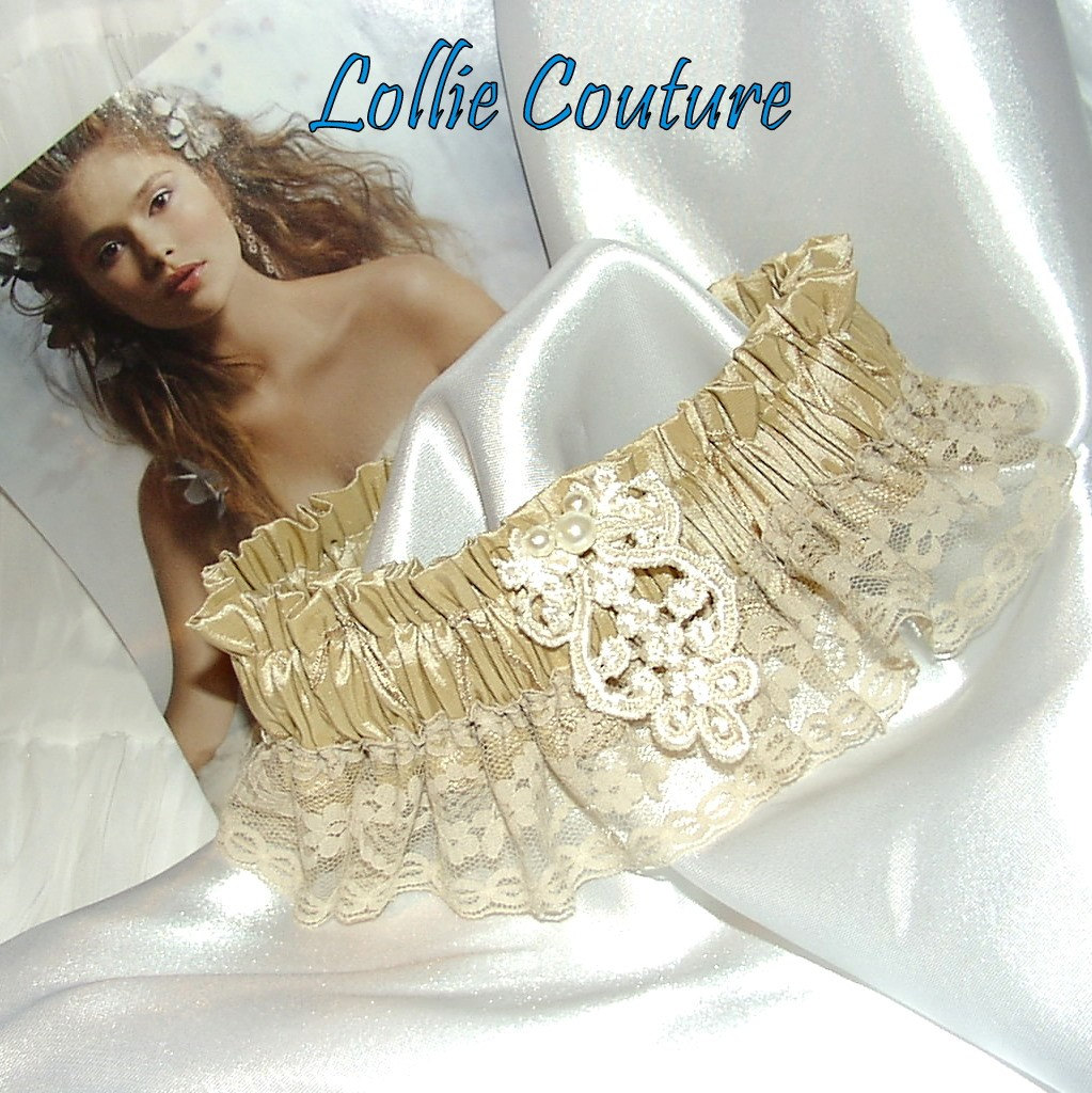 Couture Garters For Wedding: Lollie Couture *GARTERS*