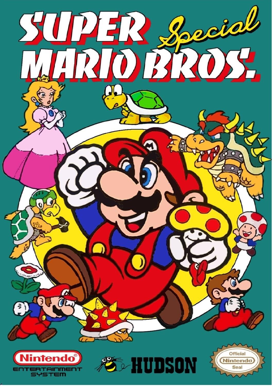 NES Super Mario Bros Special  Custom Box NO Game Included