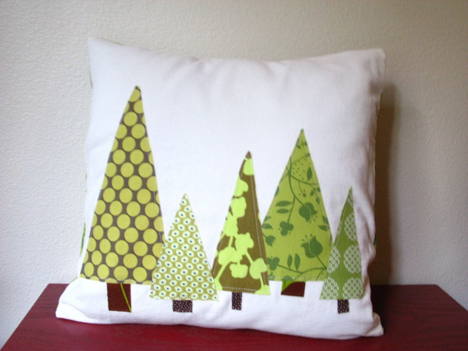 Pillow- Christmas Tree Forest  (insert included)