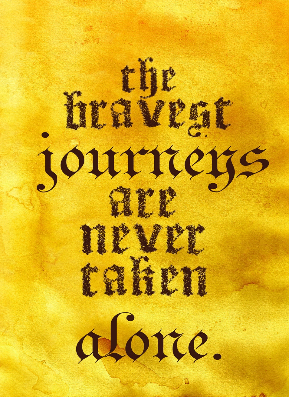 items similar to brave pixar the movie quote poster