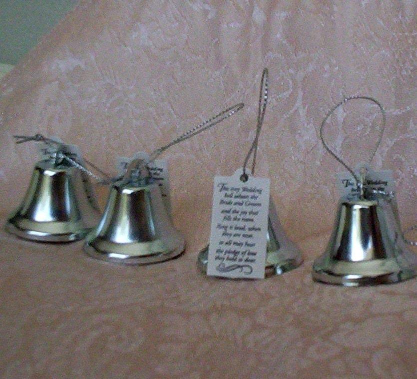 Wedding Reception Favors Kissing Bells By BudgetWeddingBouquet