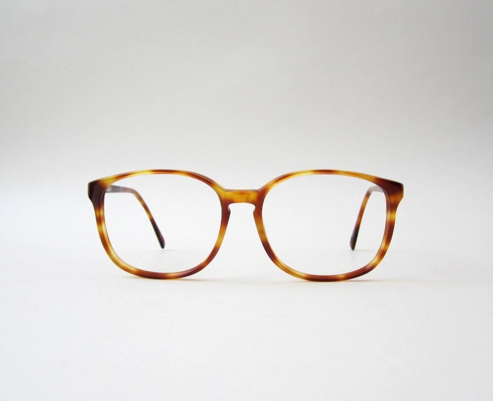 Vintage Eyeglass Frames Etsy : Vintage Amber Wayfarer Eyeglasses Frames by OiseauVintage ...