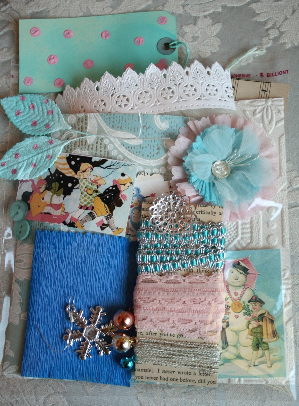Sweet and Shabby Christmas Set