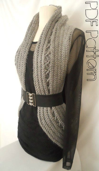 Crochet Vest Pattern : Aurora Vest Free Crochet Pattern Free Crochet Patterns & Free