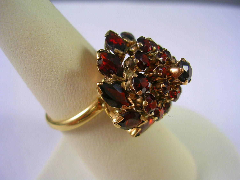 Vintage Thailand Prinzessin Ring