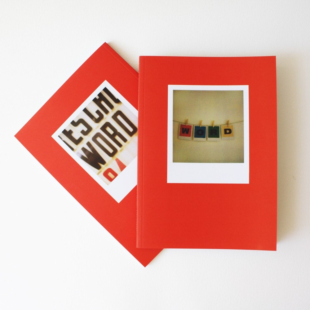 W O R D a polaroid collaboration