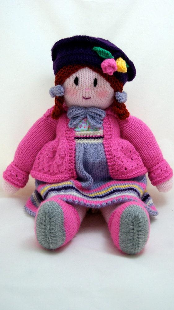 دستباف 16 اینچ عروسک بافتنی