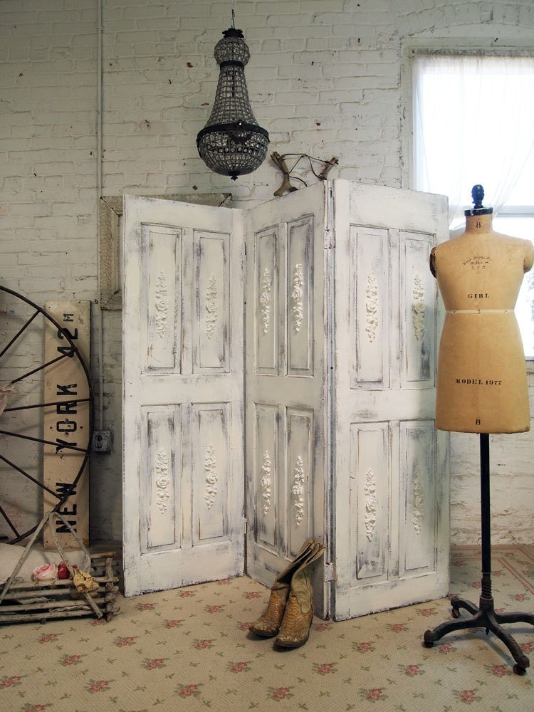 Painted cottage one of a kind room divider by paintedcottages - Decoracion armarios dormitorios ...