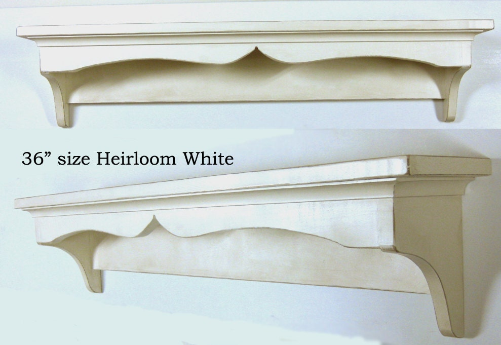 shabby chic traditional style wall shelf by starkfurnishings. Black Bedroom Furniture Sets. Home Design Ideas