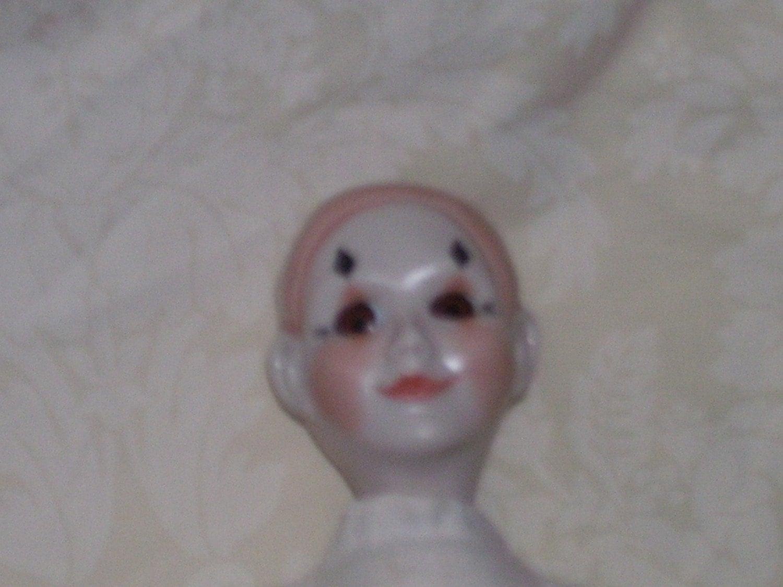 Porcelain Pierrot Mime Jester